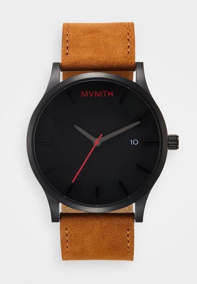 CLASSIC 45 - Watch - black/tan