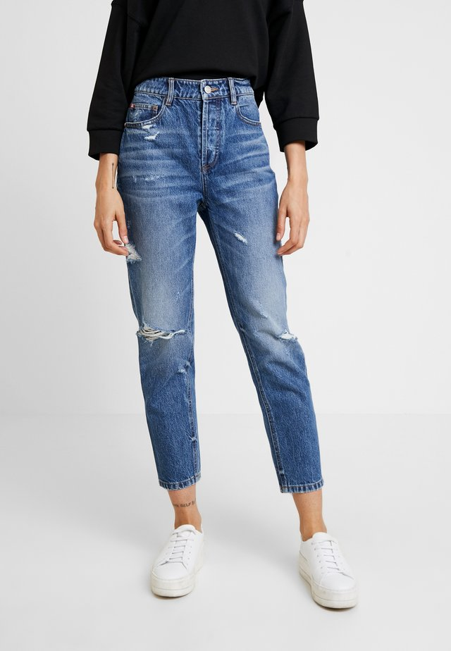 Jeans baggy - blue denim