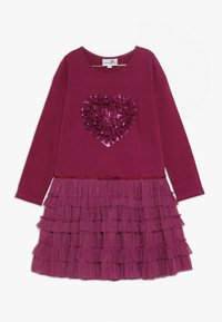 happy girls - Jerseykleid - berry - 0