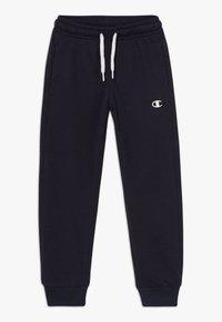 Champion - LEGACY BASICS CUFF PANTS - Pantalones deportivos - dark blue - 0