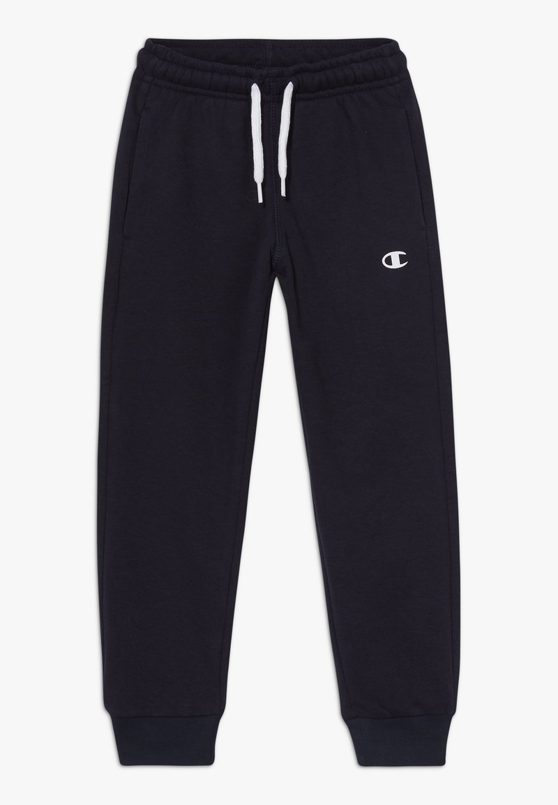 Champion - LEGACY BASICS CUFF PANTS - Verryttelyhousut - dark blue