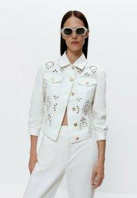 Uterqüe - Summer jacket - white - 0
