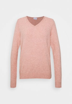 VIRIL  - Jumper - misty rose/melange