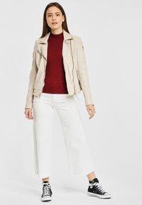 Gipsy - PGG LABAGV - Leather jacket - off white - 1