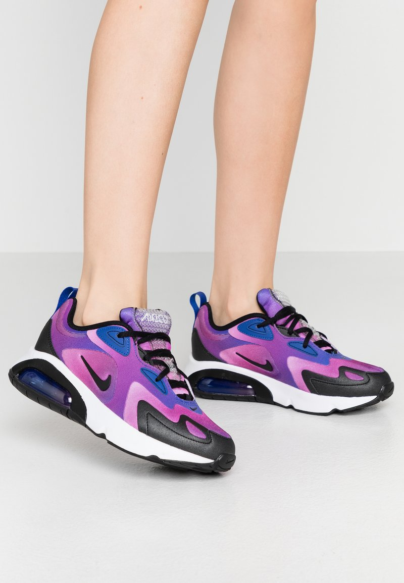 Nike Sportswear - AIR MAX 200 - Sneakers laag - hyper blue/white/vivid purple/magic flamingo/black