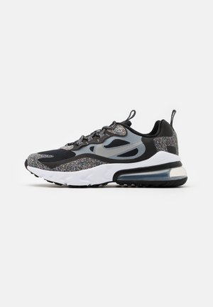AIR MAX 270 REACT MTF BG UNISEX - Sneakers - black/light smoke grey/smoke/white