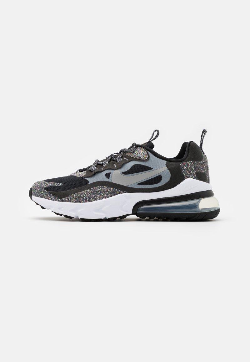 Nike Sportswear - AIR MAX 270 REACT MTF BG UNISEX - Sneakers - black/light smoke grey/smoke/white