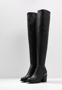 Even&Odd - Stivali sopra il ginocchio - black - 4