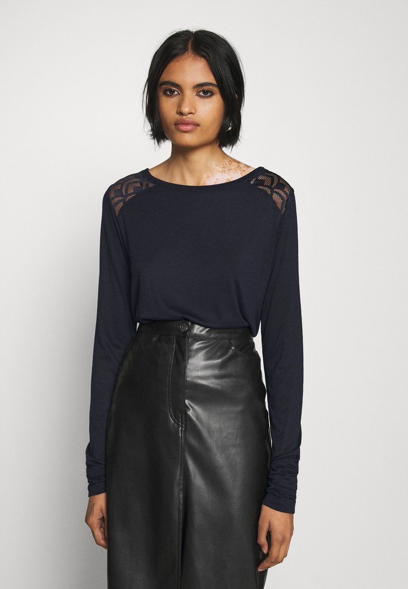 ONLY - ONLNICOLE LIFE NEW MIX  - Long sleeved top - night sky