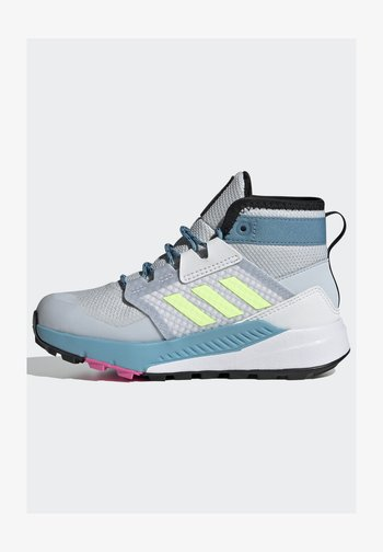 TERREX TRAILMAKER - Hiking shoes - halo blue/hi-res yellow/screaming pink