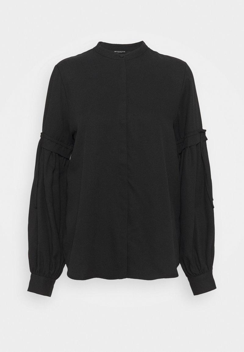 Bruuns Bazaar - PRALENZA CINE SHIRT - Button-down blouse - black