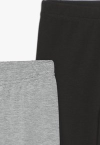 Friboo - 2 PACK  - Leggings - Trousers - light grey/black - 4