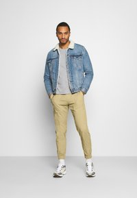 Redefined Rebel - TOBY PANTS - Trousers - sand - 1