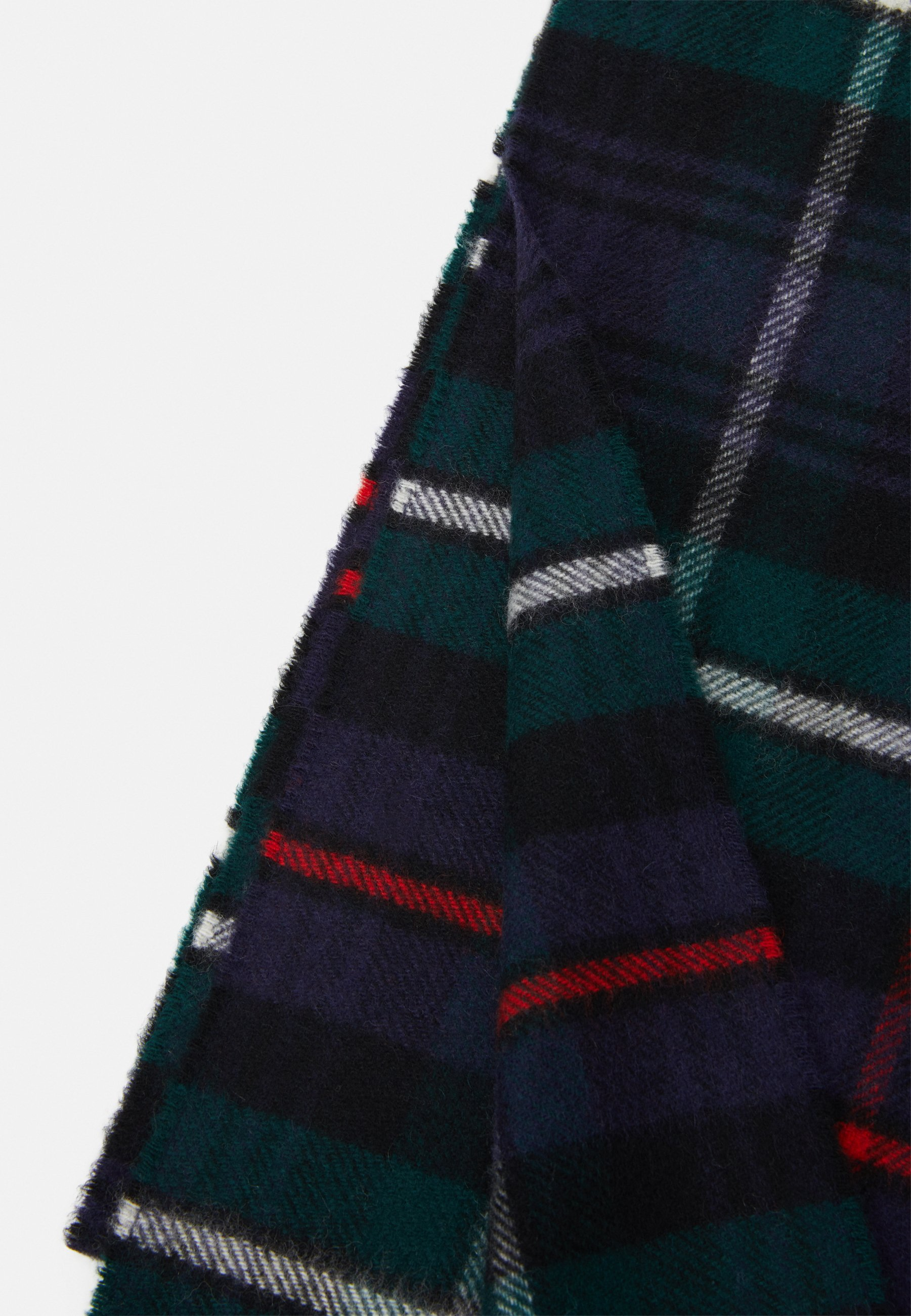 Johnstons of Elgin 100% Cashmere Tartan Scarf - Sjal - green/multi-coloured/grønn NUHjLs3do412EDP