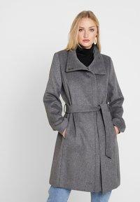 Esprit Collection - COAT - Classic coat - gunmetal - 0