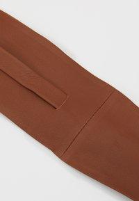 Zign - LEATHER - Waist belt - cognac - 2