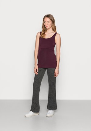 NURSING 2 PACK - Top - Toppe - bordeaux/black