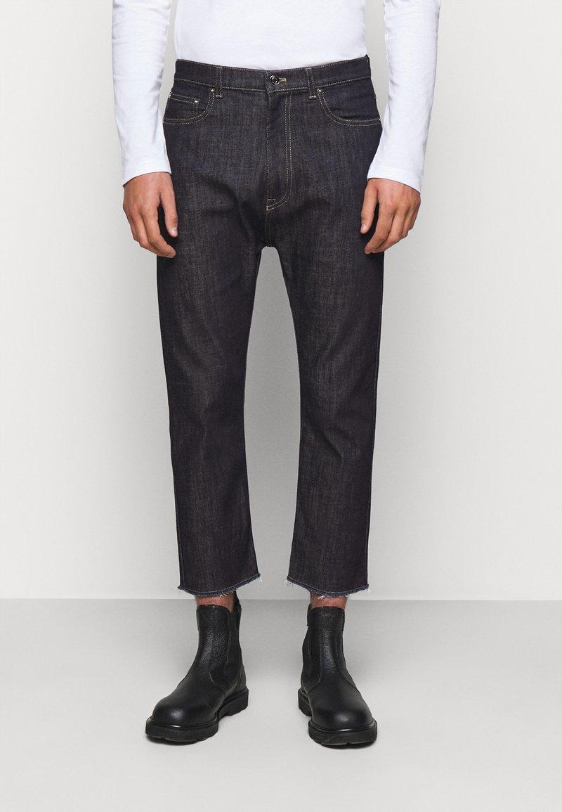 N°21 - PANTALONE - Jeans Straight Leg - indaco