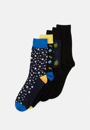 JACHAPPY LINE SOCK 5 PACK - Socks - navy blazer