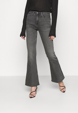 BREESE - Flared Jeans - grey tava
