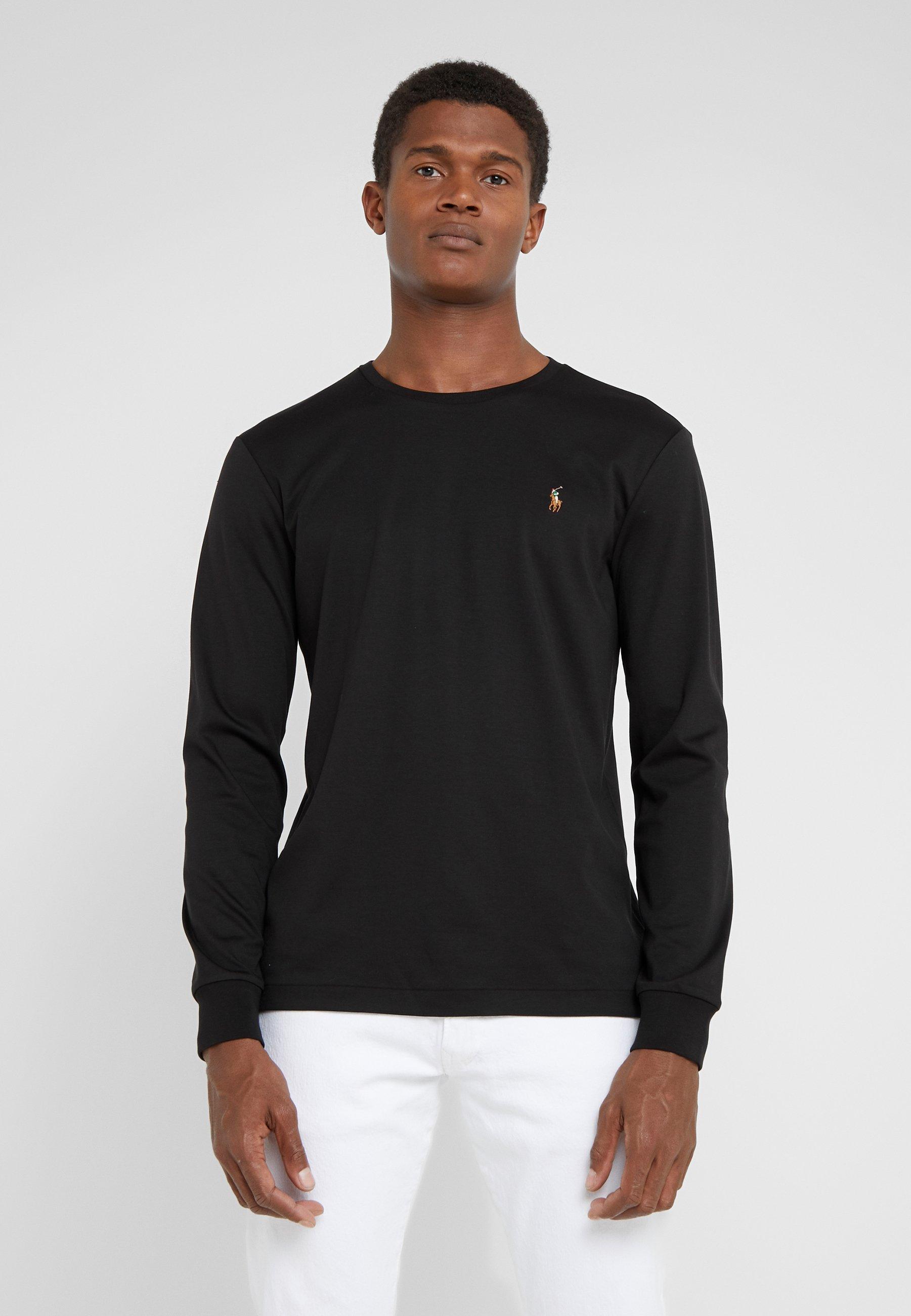 Uomo PIMA - Maglietta a manica lunga