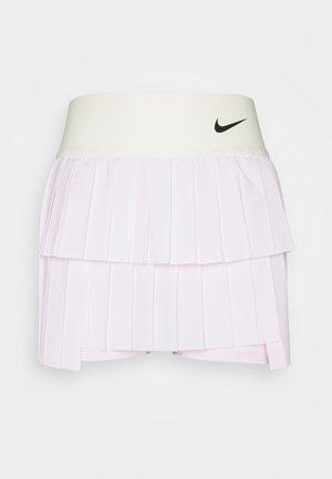 SKIRT PLEATED - Sports skirt - regal pink/coconut milk/black