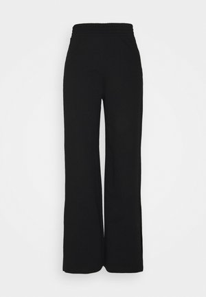 ONLDREAMER FLAIR SLIT PANTS - Bukse - black