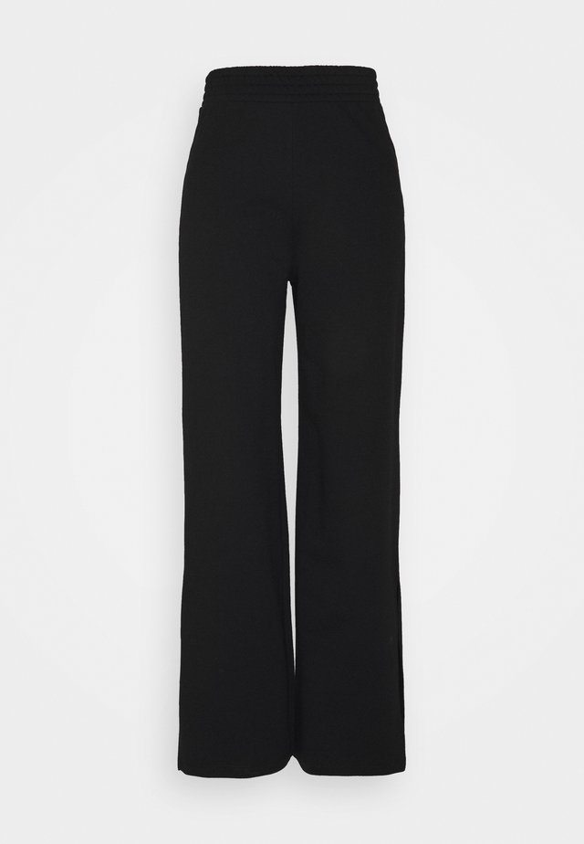 ONLDREAMER FLAIR SLIT PANTS - Broek - black