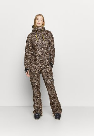 JUMPSUIT - Pantalon de ski - brown