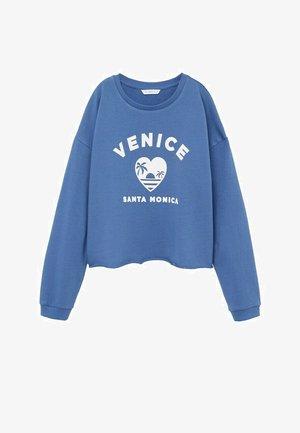 VENICE - Sweatshirt - blauw