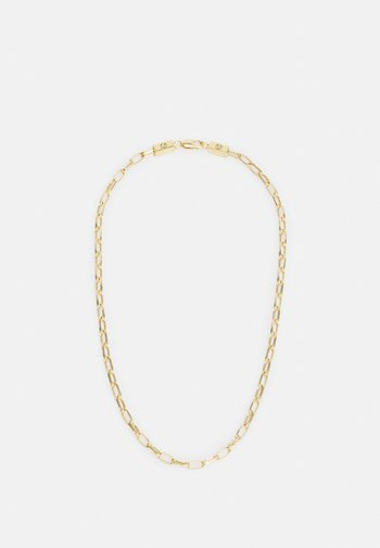 LARGE CABLE CHAIN LINK NECKLACE UNISEX - Necklace - gold-coloured
