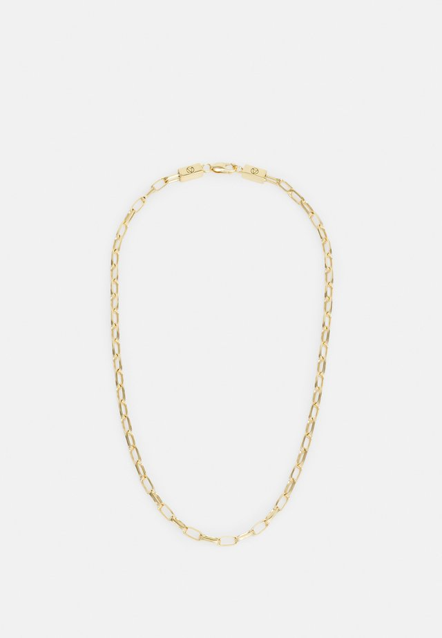 LARGE CABLE CHAIN LINK NECKLACE UNISEX - Collana - gold-coloured