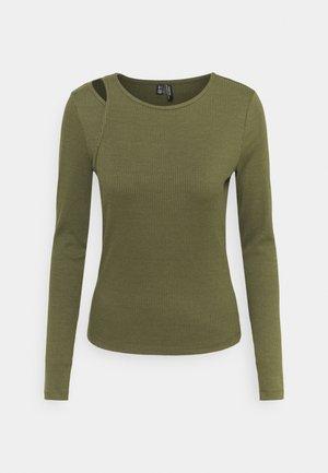 VMRUTH ASSYM TOP - Bluzka z długim rękawem - ivy green
