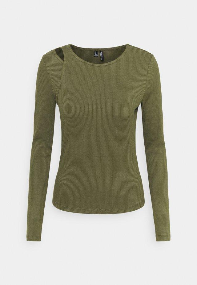 VMRUTH ASSYM TOP - Long sleeved top - ivy green