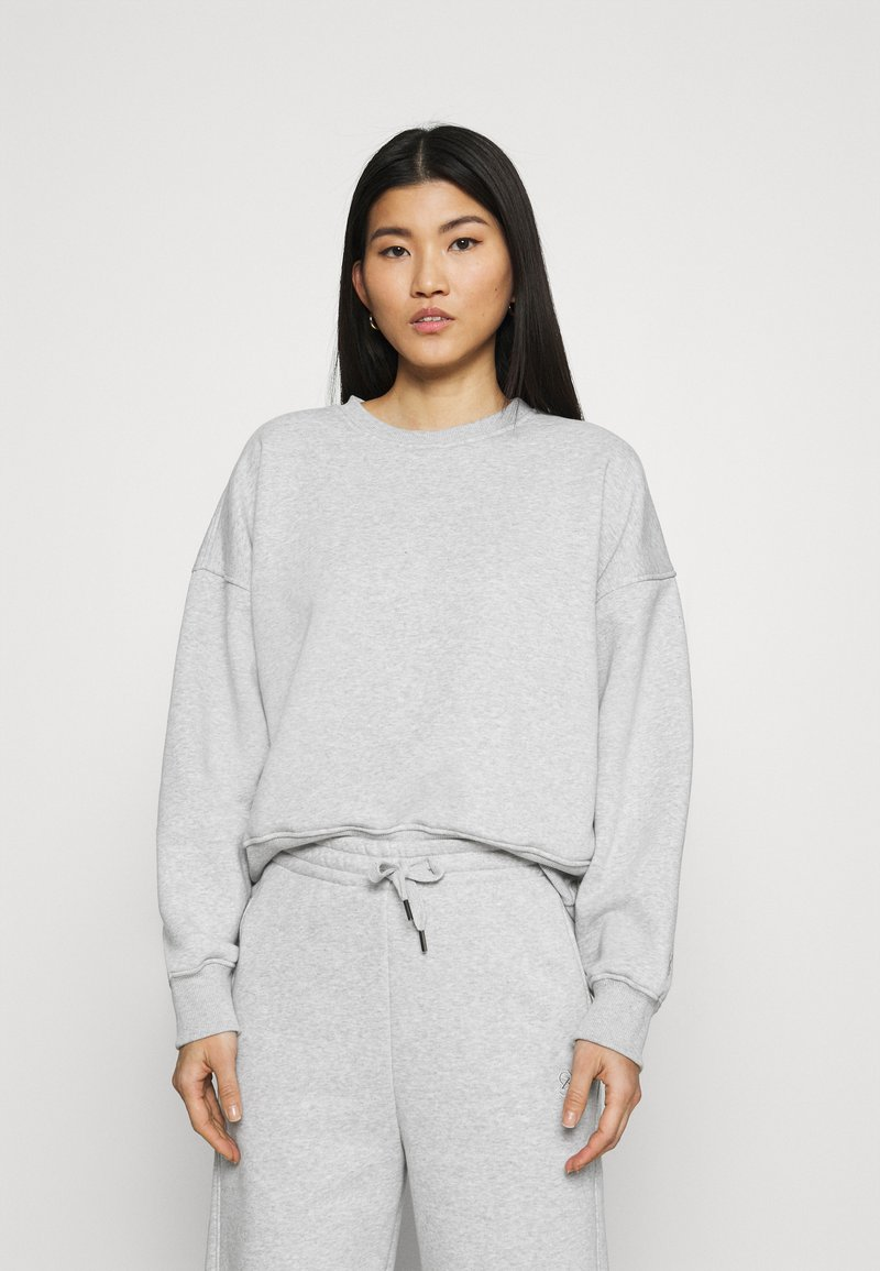 Gestuz - RUBI  - Sweatshirt - light grey melange