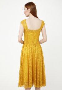 Madam-T - LOTTA - Cocktail dress / Party dress - gelb - 2