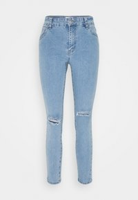 Cotton On - MID RISE CROPPED - Jeans Skinny Fit - flynn blue - 4