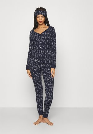 GIFTING JUMPSUIT - Pyjamas - dark blue