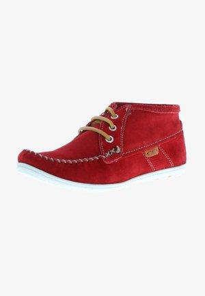 KLONDIKE  MOKASSINS  - Boat shoes - rot