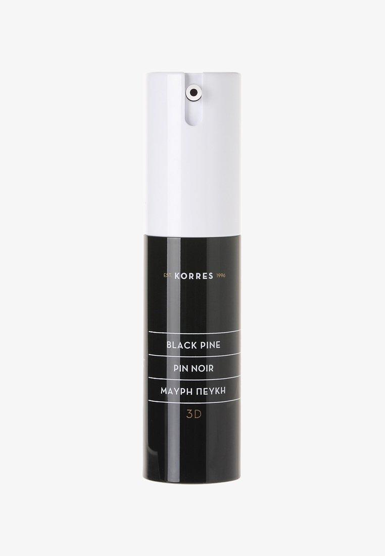 Korres - BLACK PINE 3D SCULPTING FIRMING & LIFTING EYE CREAM - Pielęgnacja okolic oczu - -