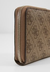 Guess - CATHLEEN SMALL ZIP AROUND - Wallet - brown - 2