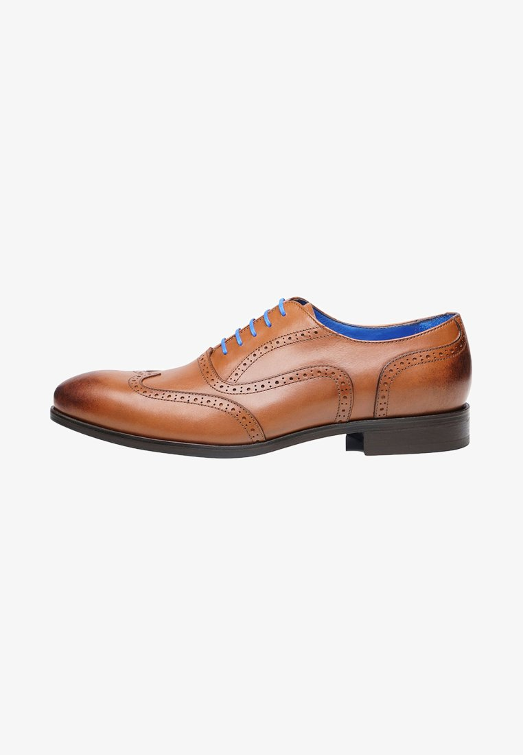 SHOEPASSION - NO. 5621 BL - Smart lace-ups - nut brown
