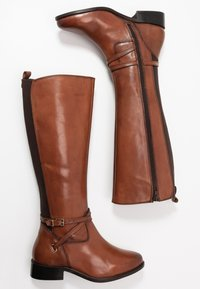Dune London WIDE FIT - WIDE FIT TRUE - Boots - tan - 3