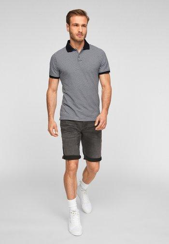 Polo shirt - black stripes