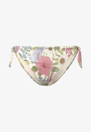 WITH TIES  - Bikini bottoms - multi-coloured