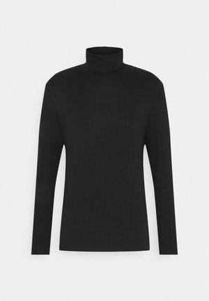 BASIC TURTLE NECK LONGSLEEVE - Langarmshirt - black