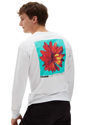 MN BLOOMING LS - Long sleeved top - white