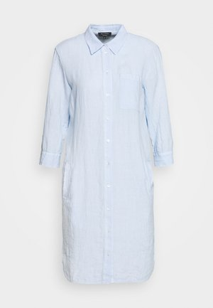 DRESS TUNIQUE COLLAR WELT POCKETS SIDE SLITS - Shirt dress - sky breeze