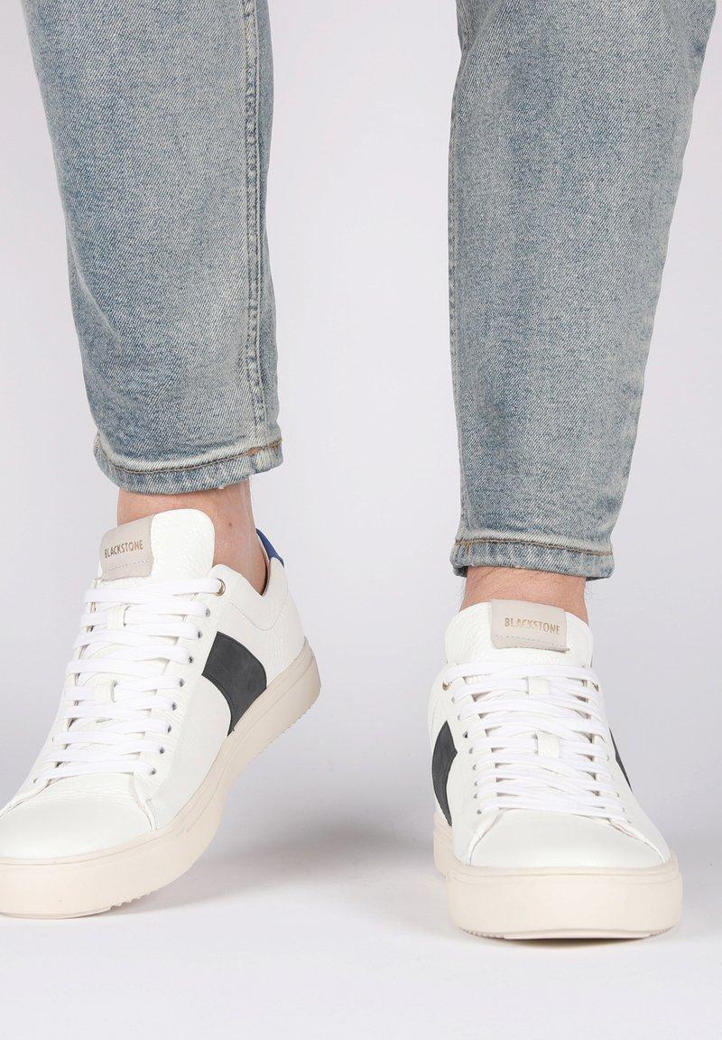 Blackstone - Sneakers - white navy