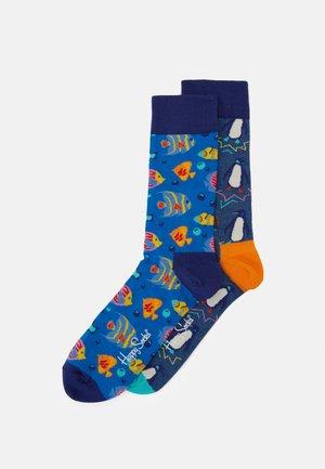 SEA SOCK 2 PACK - Socks - blue/medium blue